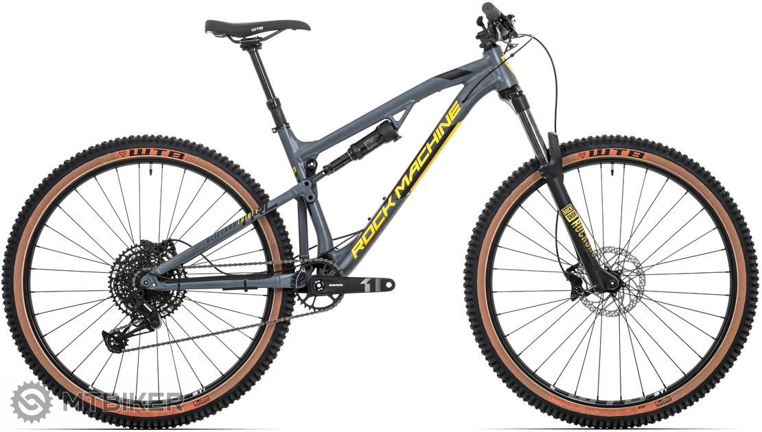 Rock Machine Blizzard TRL 30-29, model 2020, sivý/žltý
