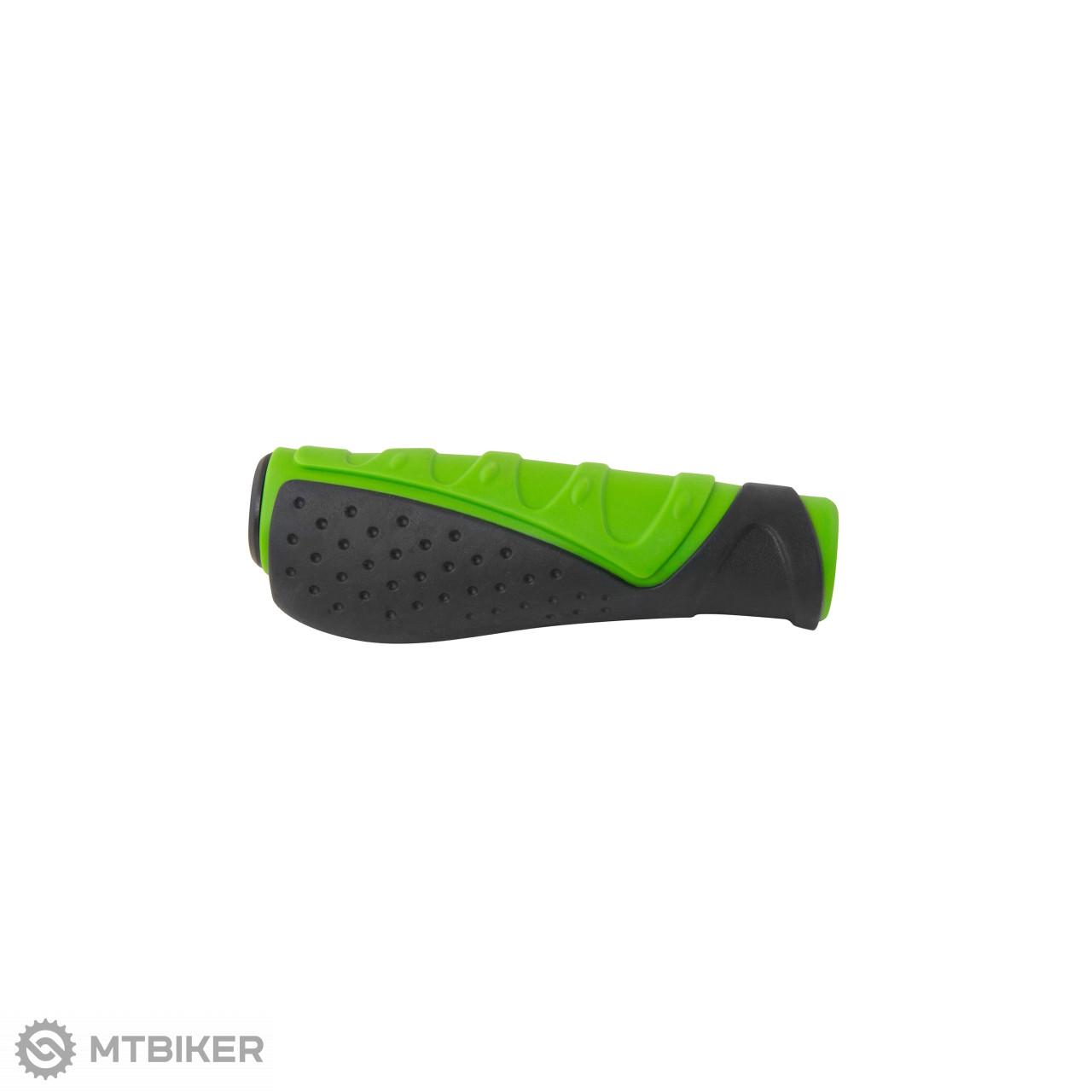 Force gripy tvarované gumové čierno-zelená