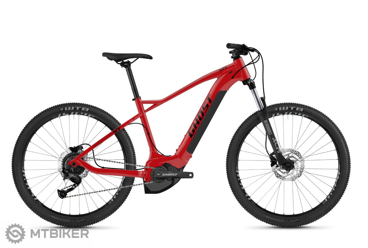 Ghost HybRide HTX 2.7+, model 2020, červený
