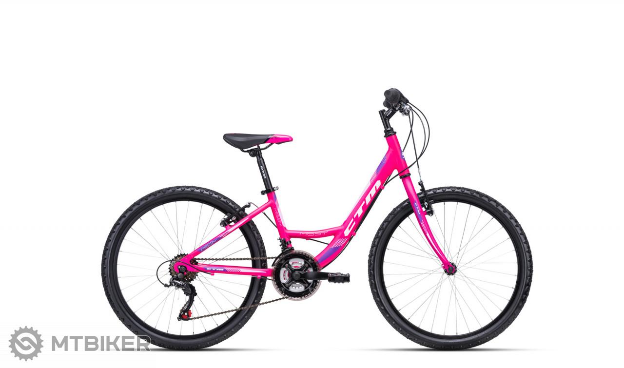 CTM MISSY matná ružová / fialová, model 2020