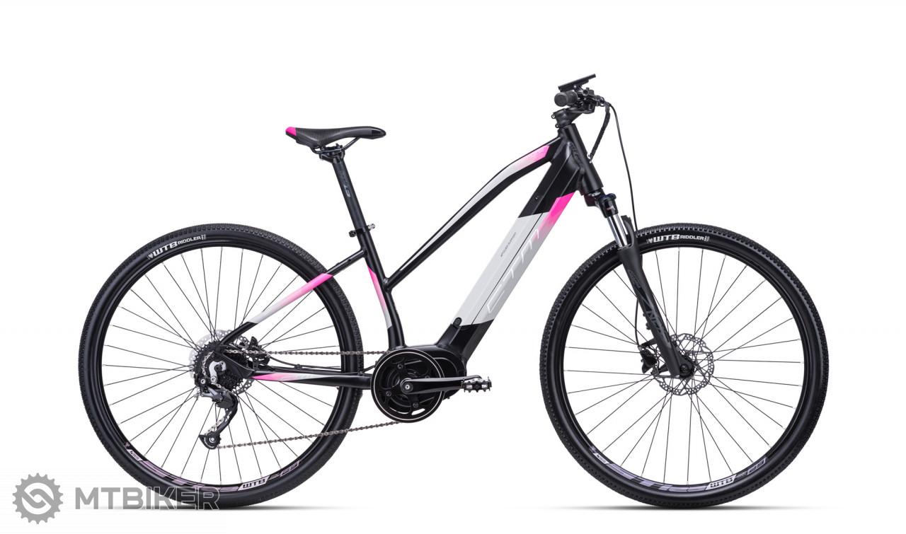 CTM SENZE lady matná čierna / ružová, model 2020