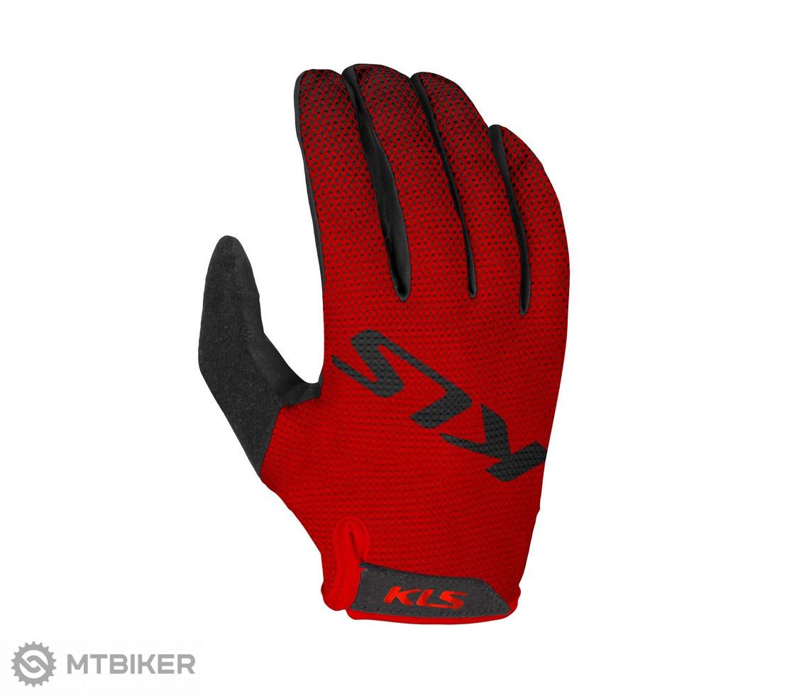 Kellys rukavice KLS Plasma červené