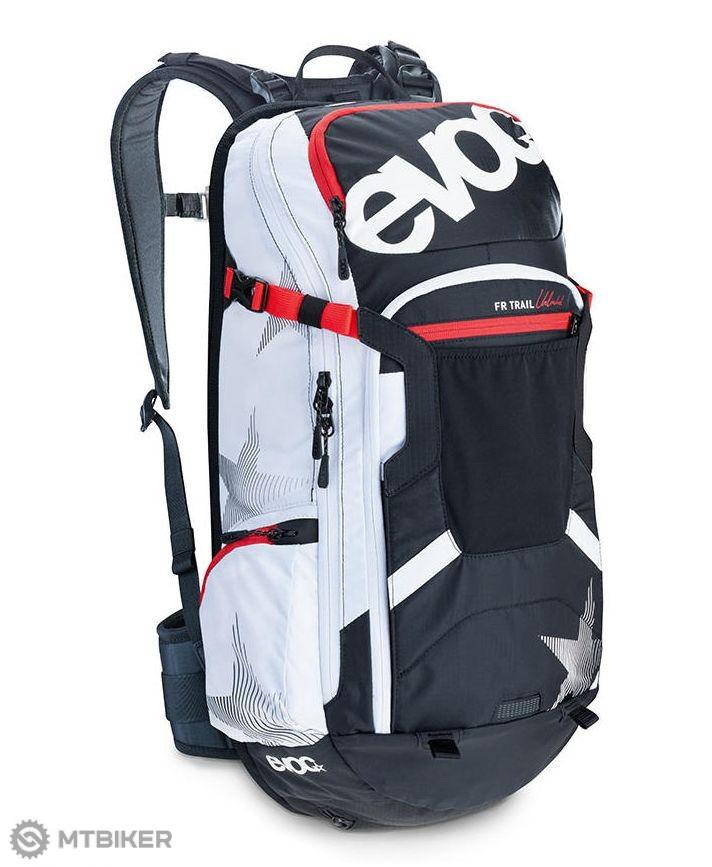99200459e1 EVOC Freeride Trail Unlimited 20l batoh black   white   red ...