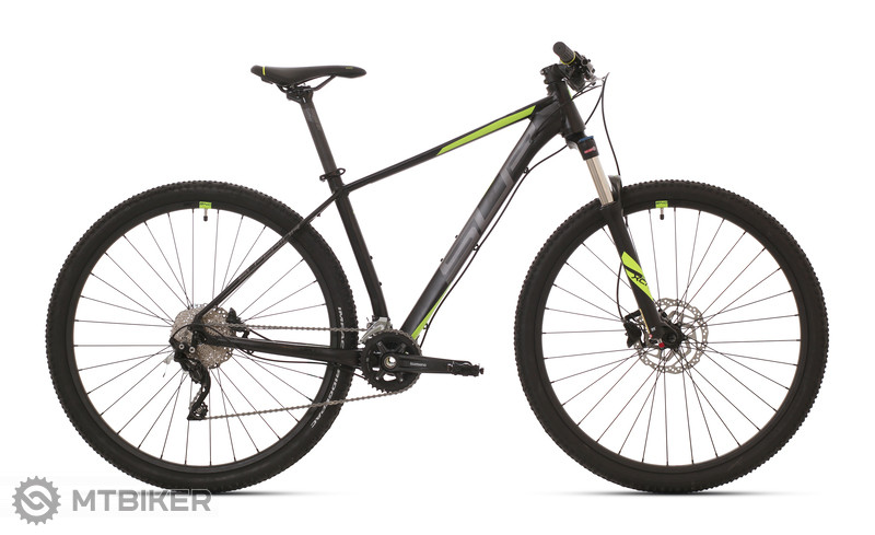 Superior XC 889 Matte Black/Dark Silver/Neon Yellow, model 2020