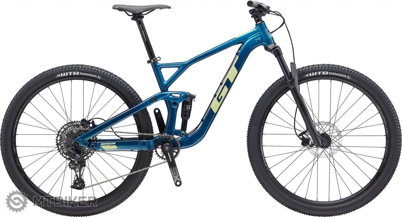 GT Sensor 29 Sport, model 2020, modrý