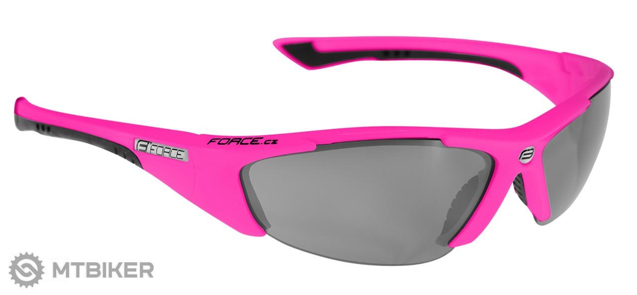 232f092c0 Force Lady cyklistické okuliare ružové - MTBIKER Shop