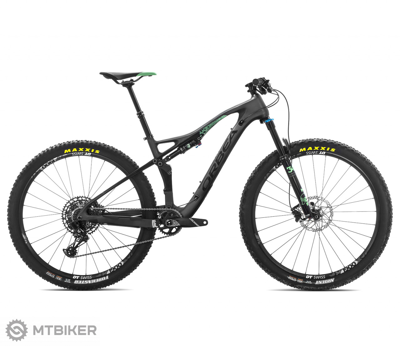 Orbea OCCAM TR M30 čierny, model 2019