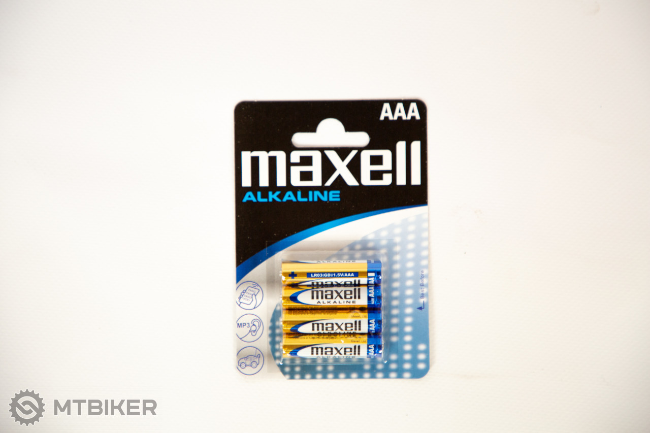 Maxell-LR03 Alkaline AAA 4 ks baterka