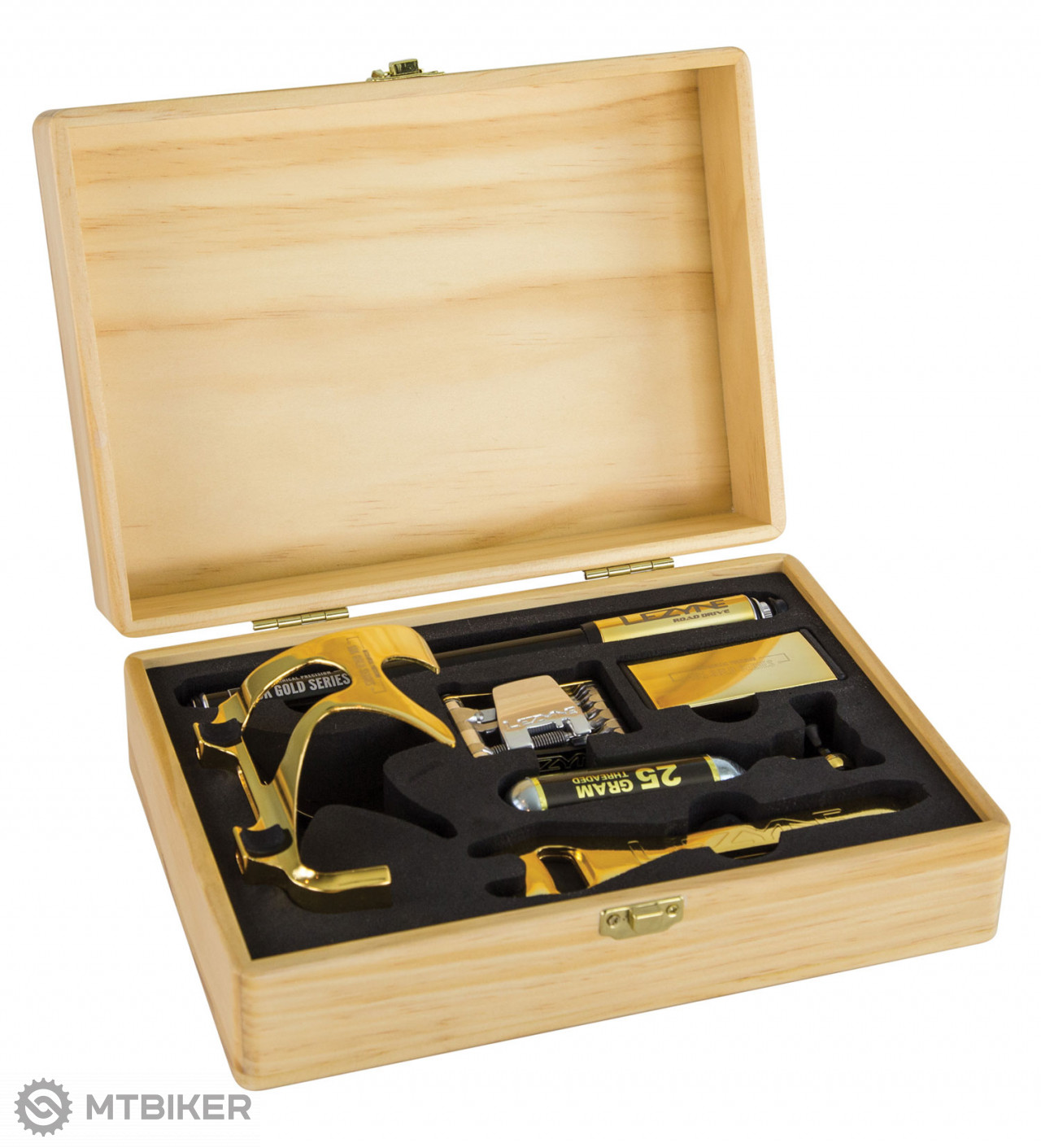 Lezyne 18K Gold Limited Edition Kit - Gold Box