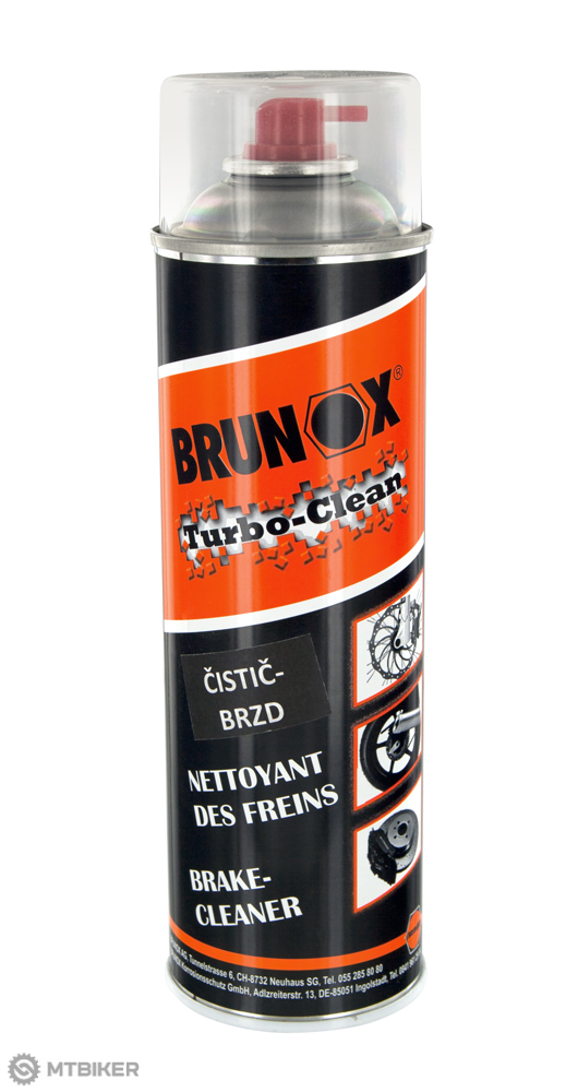 Brunox Turbo Clean odmasťovač 500ml