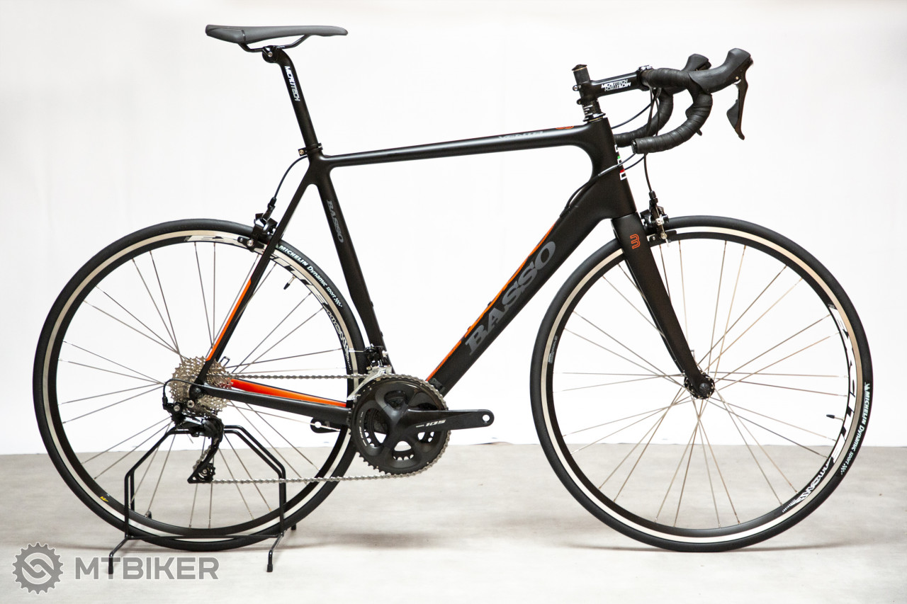 BASSO Venta Mich Excite black / orange fluo, model 2019