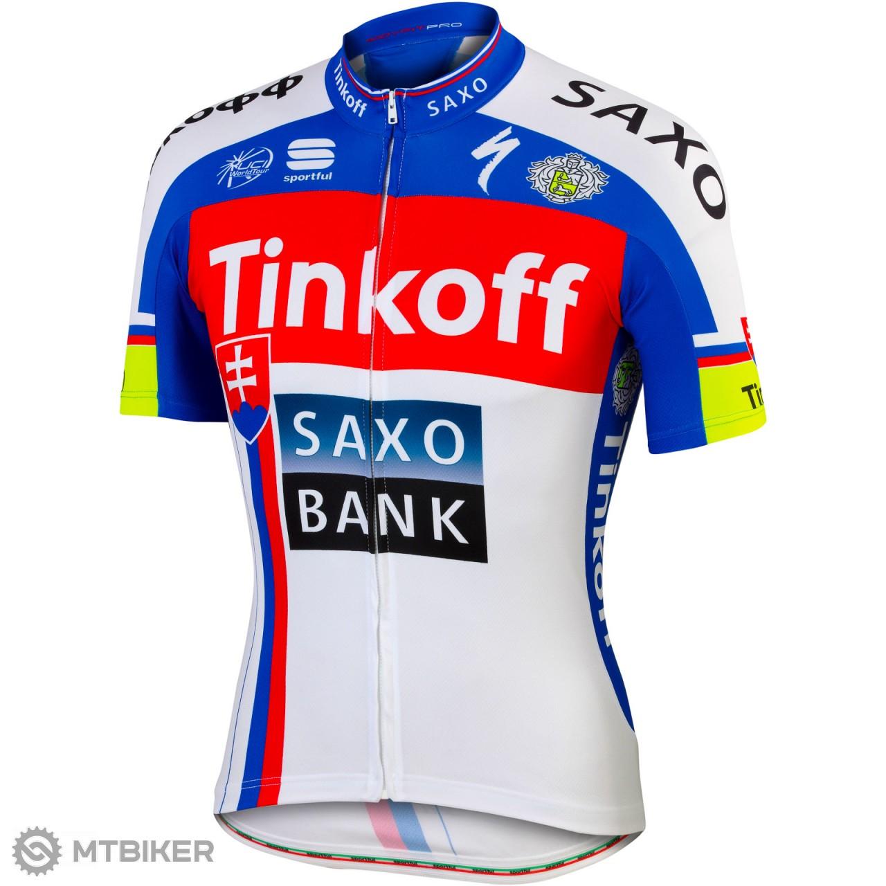 059a6aea29df8 Sportful Tinkoff-Saxo slovenský tímový dres - MTBIKER Shop