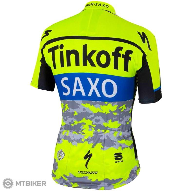 d644490d585a0 Sportful Tinkoff-Saxo Team dres TDF kamufláž - MTBIKER Shop