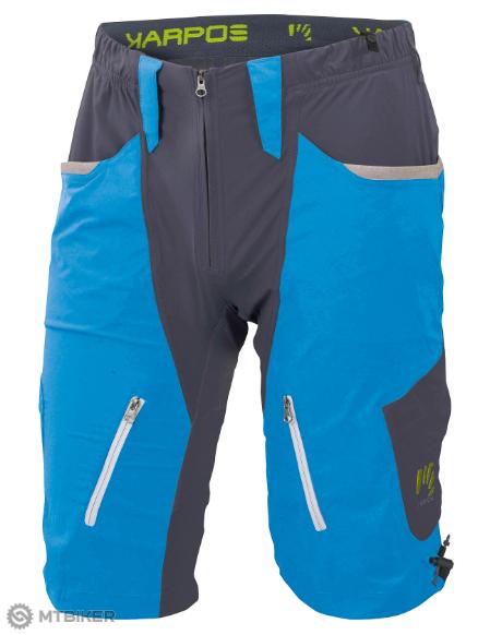 3c24b38e8158a Sportful Karpos Casatsch MTB kraťasy modro-sivé - MTBIKER Shop
