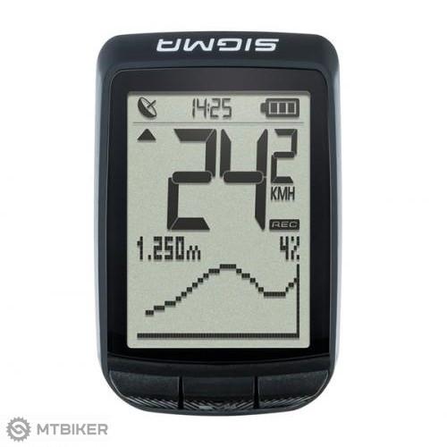 SIGMA PURE GPS cyklopočítač