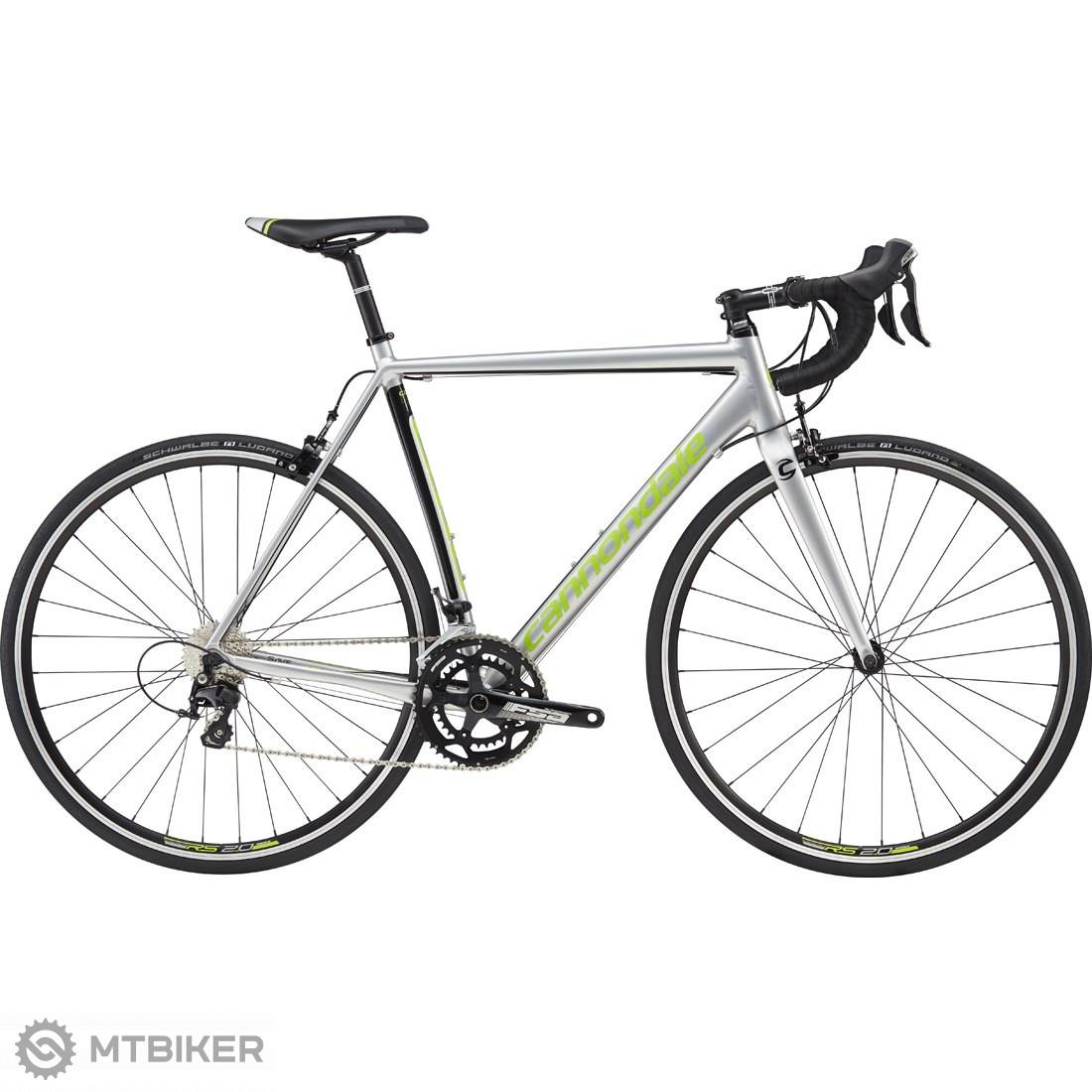 Cannondale CAAD Optimo 105 2018 Fine Silver cestný bicykel
