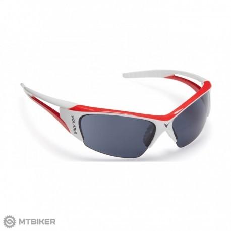 Okuliare Polaris Viper, bielo-červené