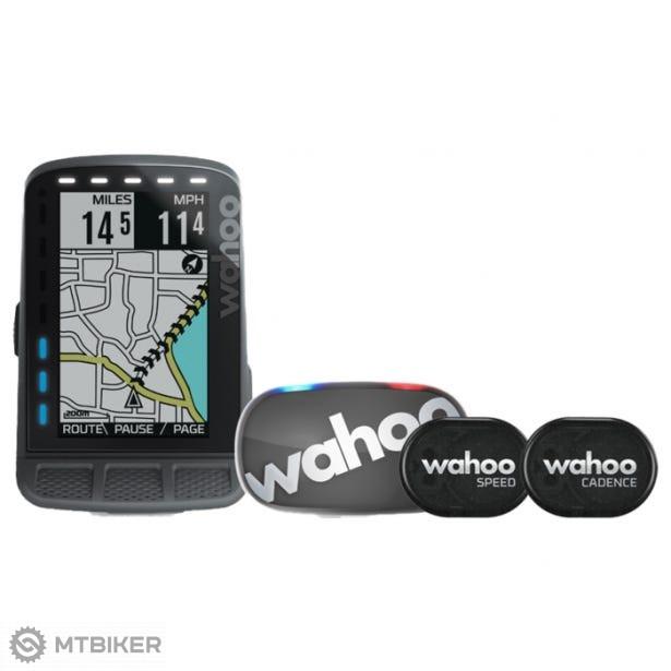 Wahoo Fitness ELEMNT ROAM GPS BUNDLE cyklopočítač + TICKR 2 grey + RPM senzor rýchlosti a kadencie