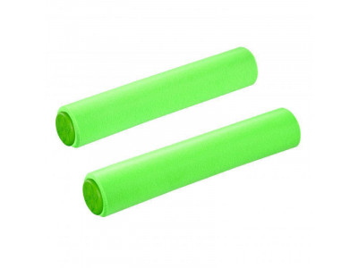 Supacaz Siliconez - silikónové gripy - neónovo zelená
