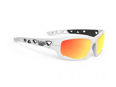 Rudy Project AIRGRIP okuliare - white gloss multi ls orange
