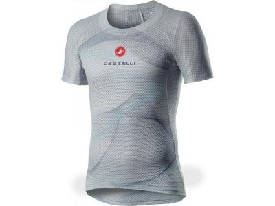 Castelli 20028 PRO MESH pánske tričko s krátkym rukávom - 870 – šedo strieborná, L
