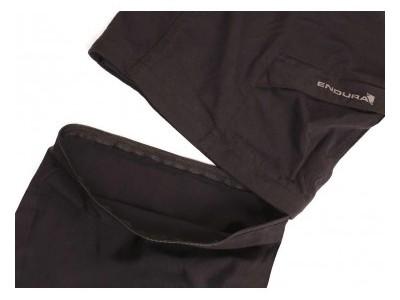 Endura Hummvee Zip-off pánske nohavice, Black