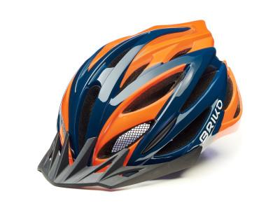 - M (55 - 58 cm), modro-oranžová