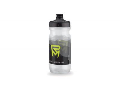 ROCK MACHINE fľaša BIG VALVE, transparent-čierna