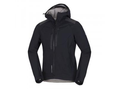 NORTHFINDER pánska bunda outdorová  softshell all-weather 3L BROSDY - VEĽKOSŤ: 2XL, FARBA: blackblack