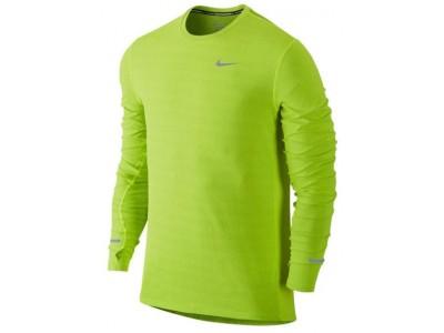359964b820b6 Do 2 dní. Nike Dri-Fit Contour pánske bežecké tričko s dl.rukávmi žltá  reflexná