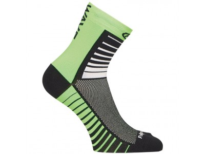 Northwave Sonic ponožky 2016 black/green fluo