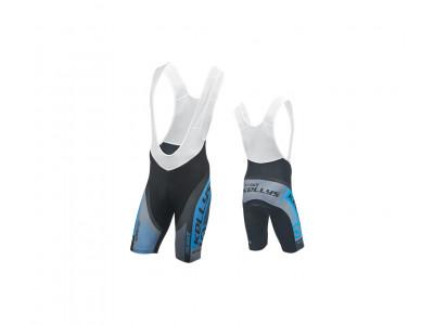 Kellys Cyklonohavice PRO Race krátke s vložkou - modrá S