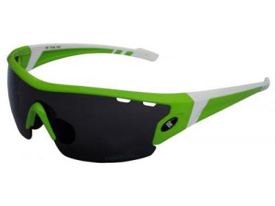 Okuliare RM Team Pro, čierno/biele - zelené