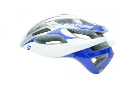 Cratoni C-Breeze white-silver-blue glossy