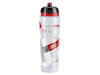 Elite fľaša MAXICORSA číra červené logo 1000 ml
