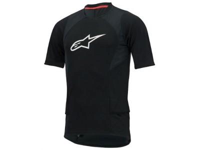 Alpinestars Drop 2 dres čierny/biely - Veľkosť XXL - krátky rukáv