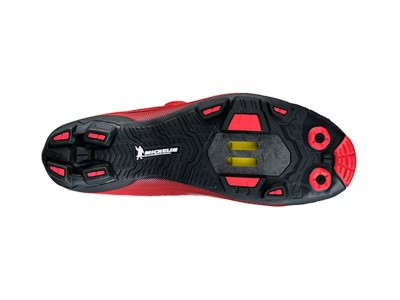 Shimano SH-XC700R MTB pánske tretry červené