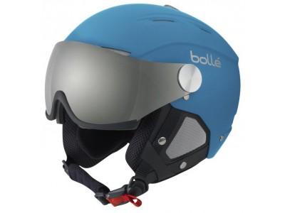 f6ed3c417 Bollé-Backline Visor Soft modrá-sivá lyžiarska helma - MTBIKER Shop
