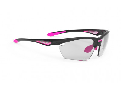 Rudy Project STRATOFLY okuliare - black gloss impactx 2black fuchsia