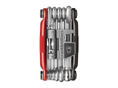 CRANKBROTHERS Multi, multikľúč - 17 Tool čierna/červená