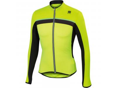 a5880c7d1e90 Sportful Pista dres s dlhým rukávom fluo žltý čierny