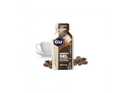 GU Energy 32 g Gel - espresso love 1 sáčok