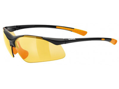 abc1d12ca Skladom 1 ks. Uvex Sportstyle 223 Black Orange okuliare