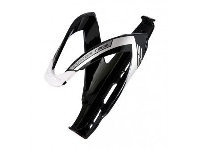 Elite Custom Race košík - čierna-biela lesklá