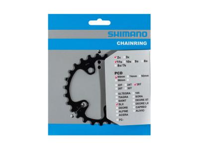 Shimano prevodnik 26z. M7000 SLX 36/26z. čierny 64mm