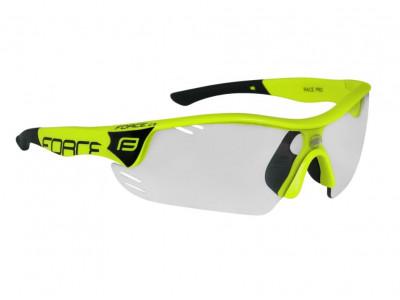 6145a2acf Skladom 1 ks. Force Race Pro cyklistické okuliare ...