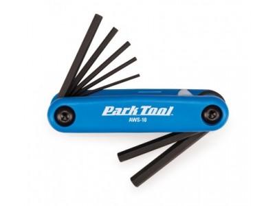 Park tool sada imbusových kľúčov v noži 7ks