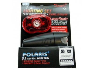 Smart Polaris 3/Superflash sada svetiel biela