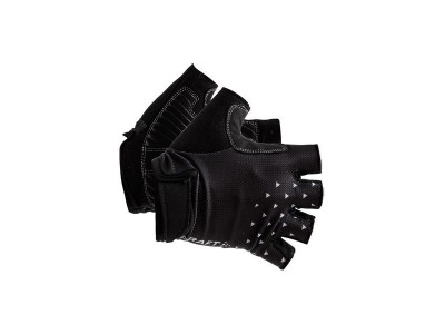 Craft Cyklorukavice Go - XXS, čierna