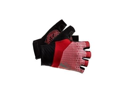 Rukavice Craft Rouleur - 3XS, červené